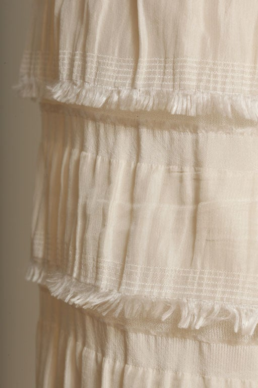 Rodarte Silk Tiered Skirt 6