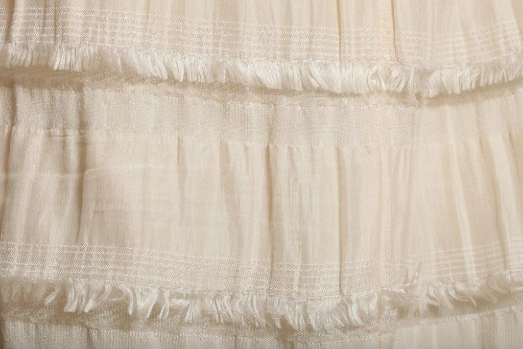 Rodarte Silk Tiered Skirt 7