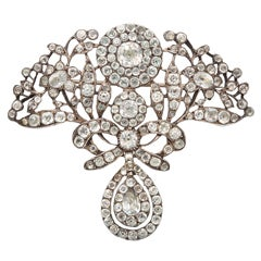Creme de la Creme Georgian Paste Brooch