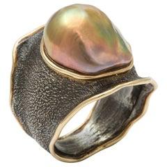 Marilyn Cooperman Pearl Ring