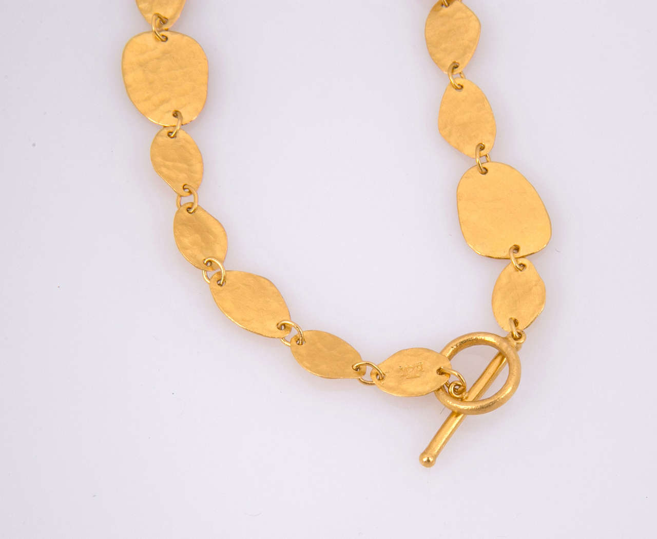 Women's Yossi Harari Gold Necklace For Sale