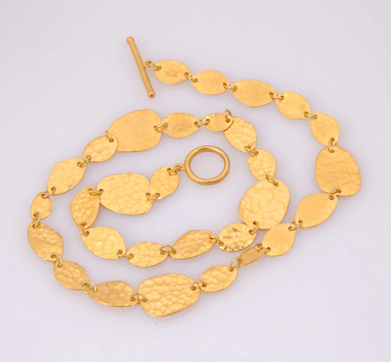 Yossi Harari Gold Necklace For Sale 1