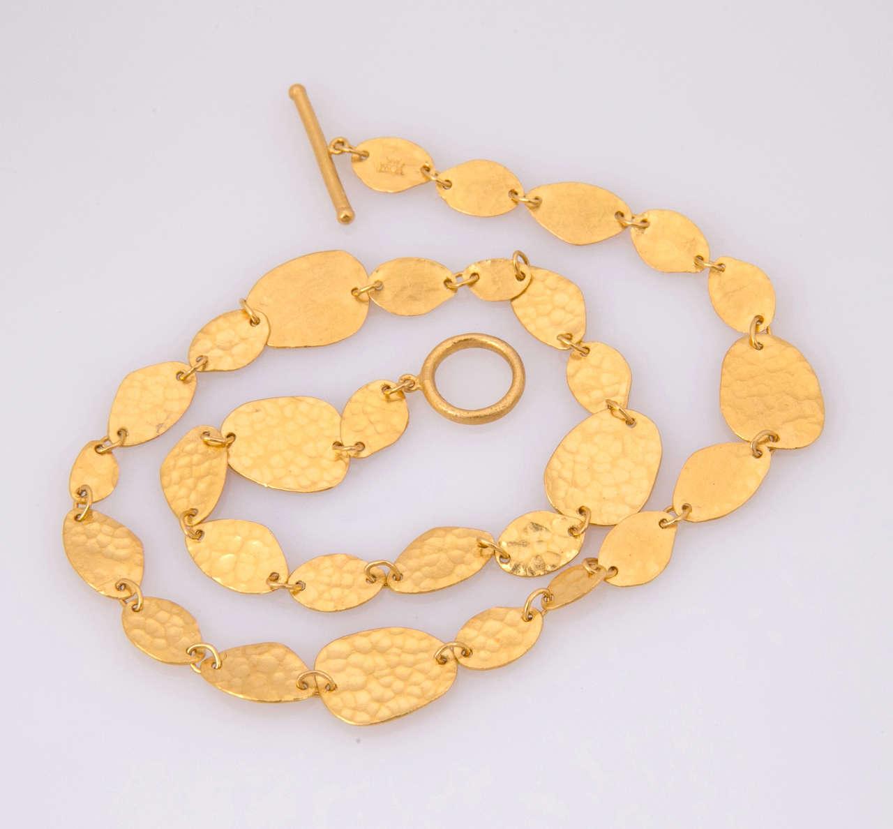 Yossi Harari Gold Necklace 5