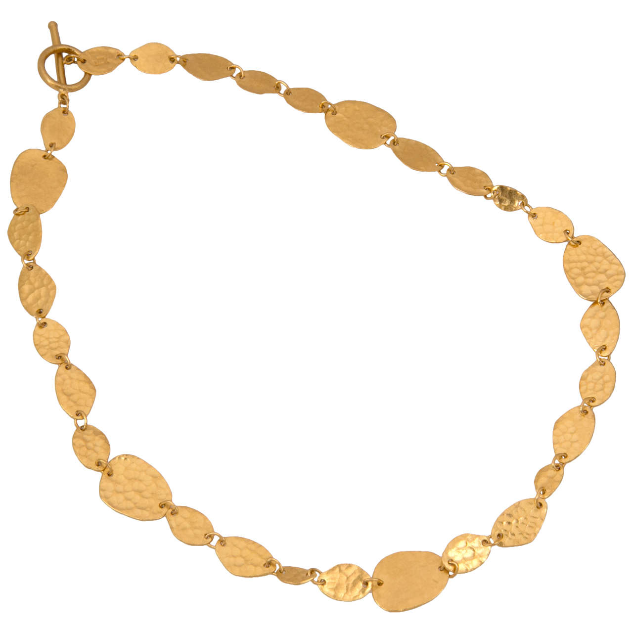 Yossi Harari Gold Necklace For Sale
