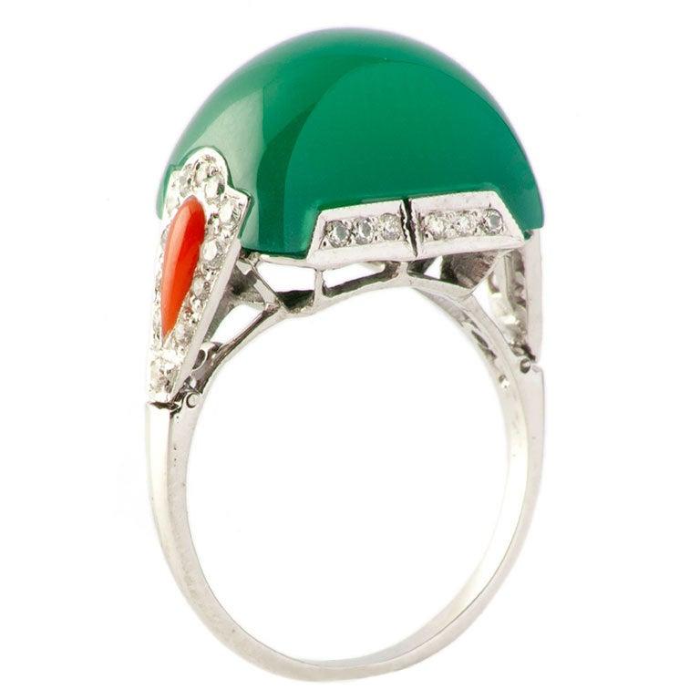 jade ring at 1stdibs