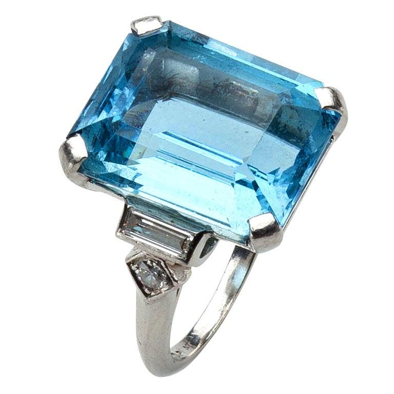 Aquamarine Jewelry Tiffany Tiffany Aquamarine And