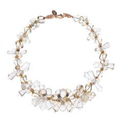 Deborah Liebman Lemon Quartz Gold Necklace