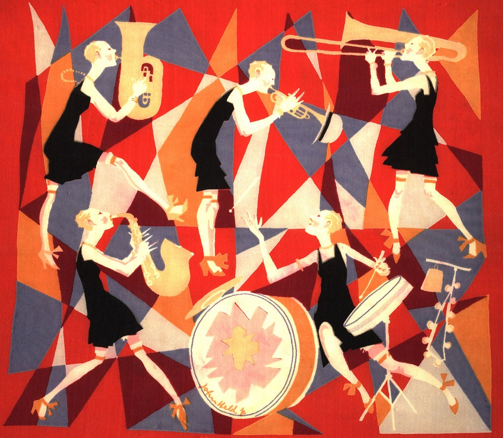 The jazz age in the 1920s