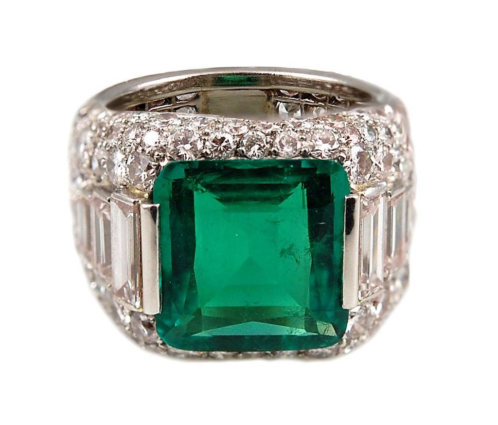 highly important bulgari emerald ring at 1stdibs