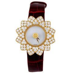 Buccellati Diamond Mother-of-Pearl Watch