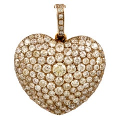 VICTORIAN Diamond Heart Pendant