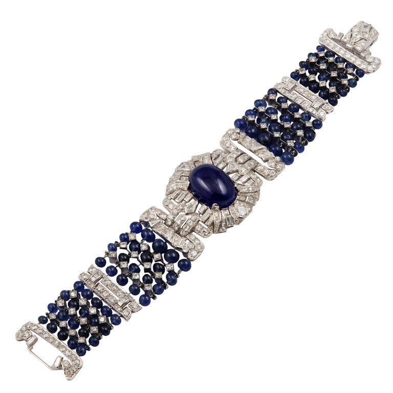 Tiffany & Co Sapphire Diamond Bracelet/Choker