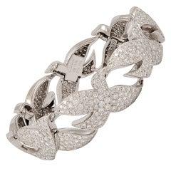Cartier Diamond 'Dove' Bracelet