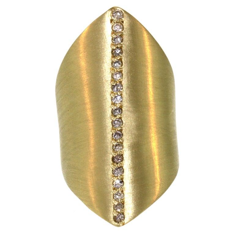 Diamond Stripe Ring
