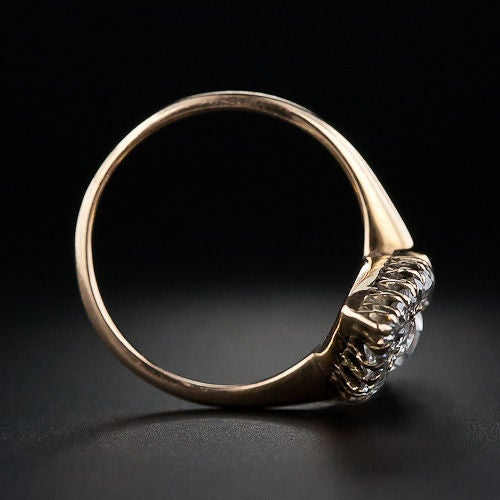 elongated antique dinner ring at 1stdibs