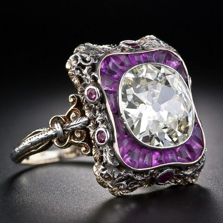 Extraordinary Antique Diamond Ring 2