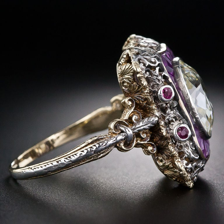 Extraordinary Antique Diamond Ring 3