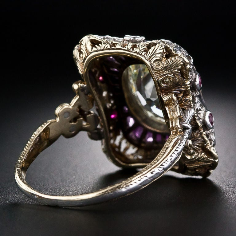 Extraordinary Antique Diamond Ring 4