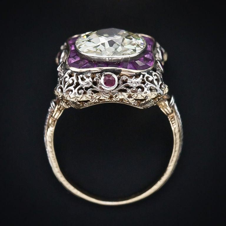 Extraordinary Antique Diamond Ring 5