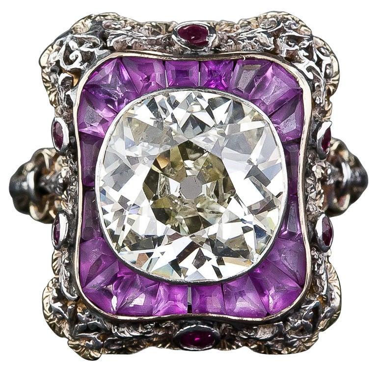 Extraordinary Antique Diamond Ring 1