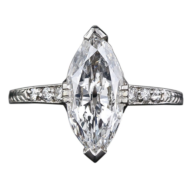 Art Deco Engagement Rings San Francisco