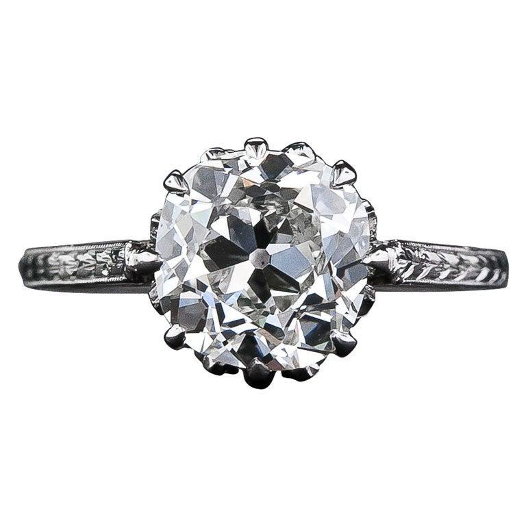 cushion cut diamond 2 carat cushion cut diamond solitaire