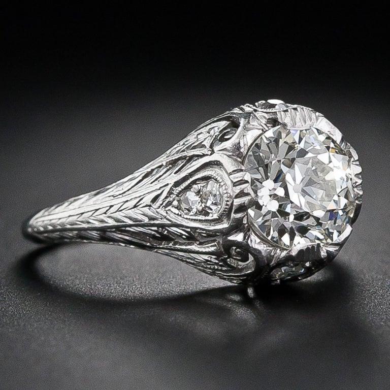 1 20 carat edwardian engagement ring at 1stdibs