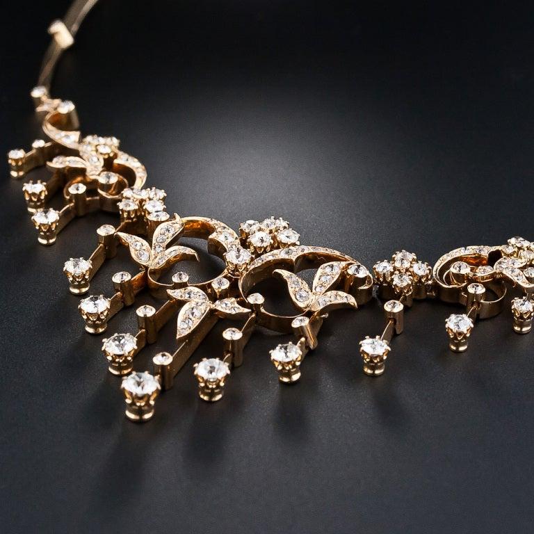 Antique Diamond Necklace 4
