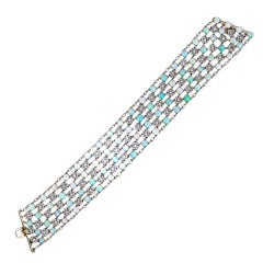 Belle Epoque Opal and Diamond Choker Necklace