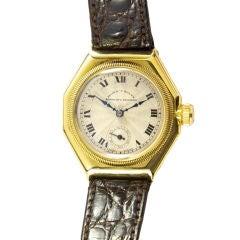 Rolex Gold Octagonal Oyster 679