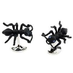 Black Jungle Ant Cufflinks DEAKIN & FRANCIS
