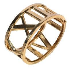TIFFANY Gold Atlas Bracelet