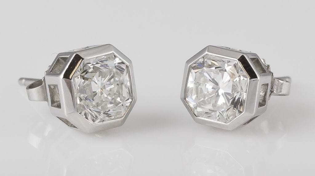 c19ab9fbf Diamond Earrings: Tiffany Lucida Diamond Earrings