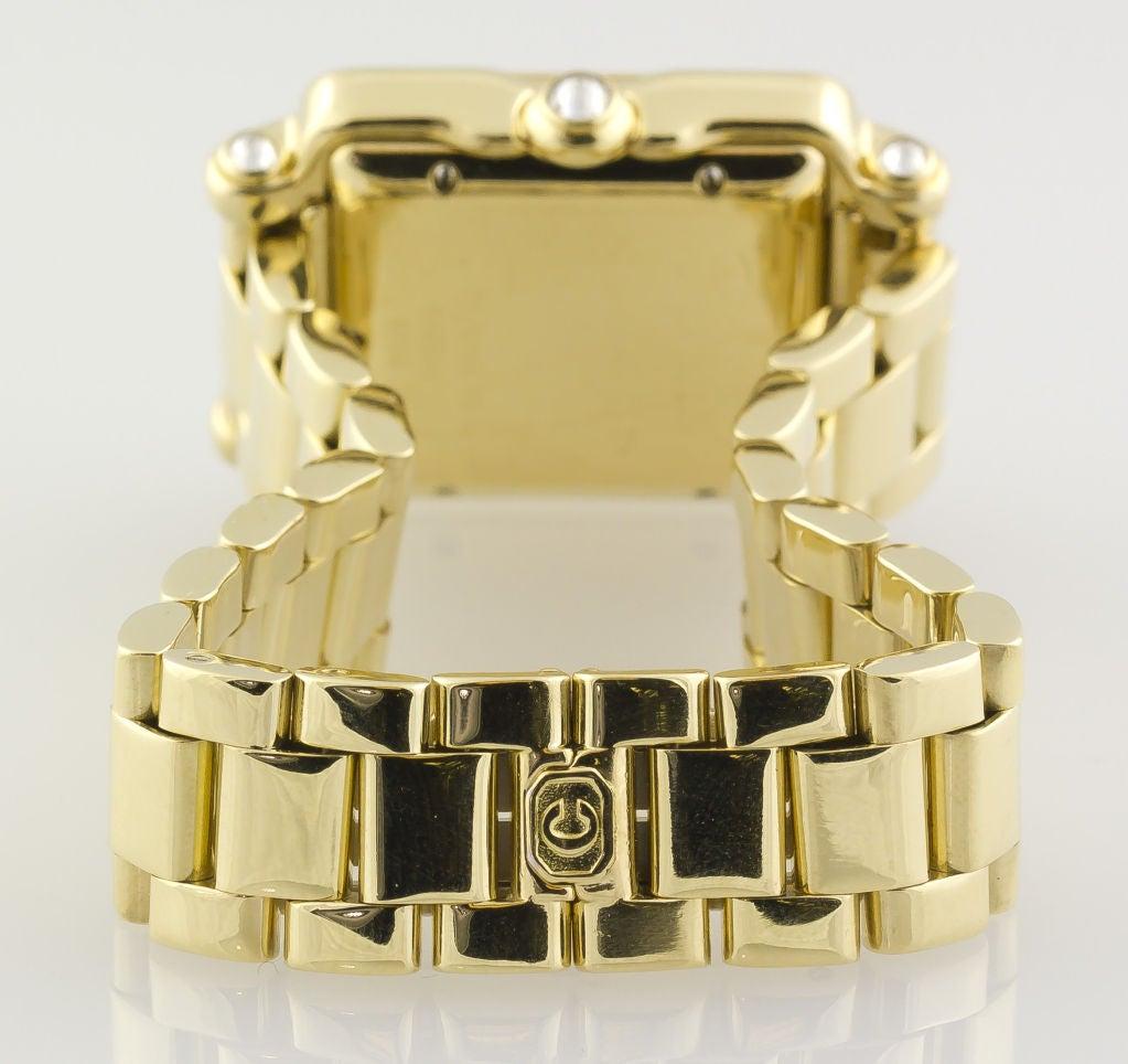 CHOPARD HAPPY SPORT Gold 7 Floating Diamond Watch 6