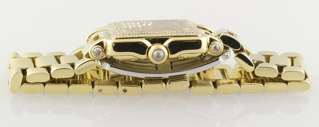 CHOPARD HAPPY SPORT Gold 7 Floating Diamond Watch 7