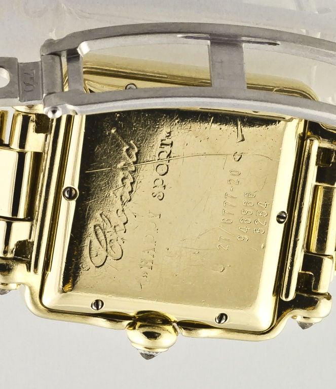 CHOPARD HAPPY SPORT Gold 7 Floating Diamond Watch 8