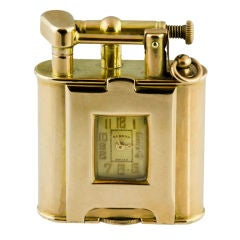 DUNHILL Rare Gold Lighter Watch