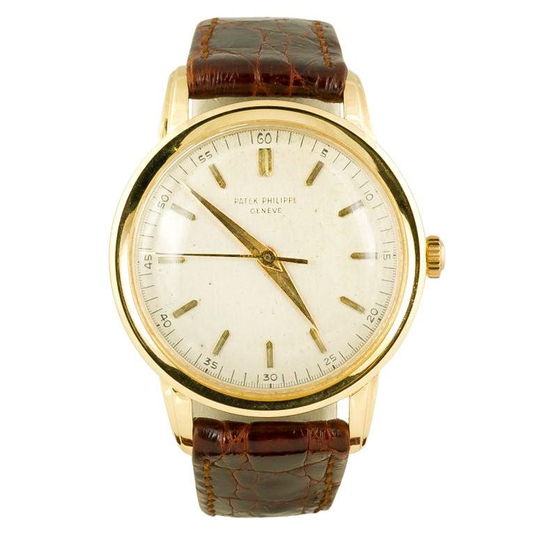 PATEK PHILIPPE  Gold 37mm Watch Ref. 2481 1