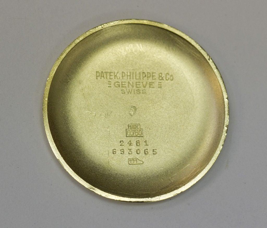 PATEK PHILIPPE  Gold 37mm Watch Ref. 2481 2