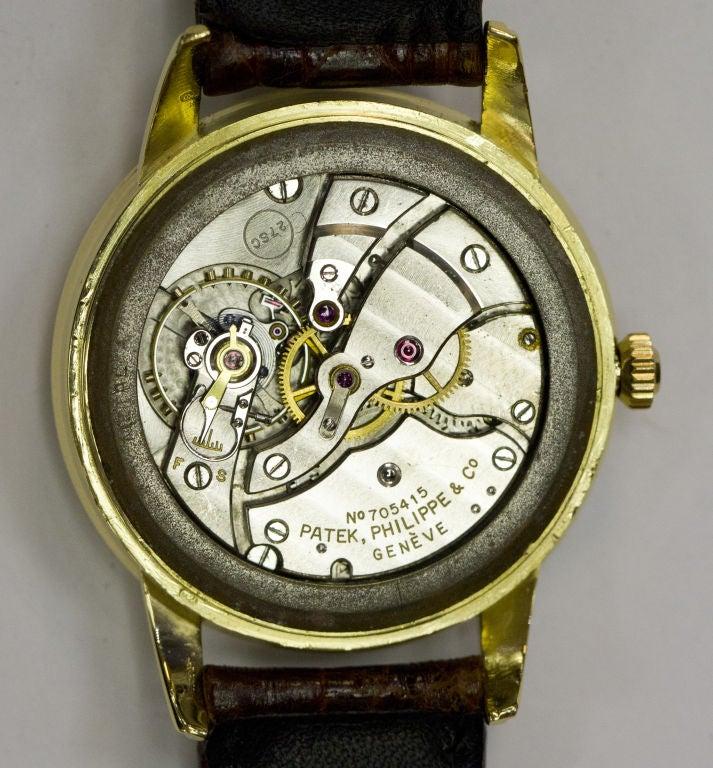 PATEK PHILIPPE  Gold 37mm Watch Ref. 2481 3