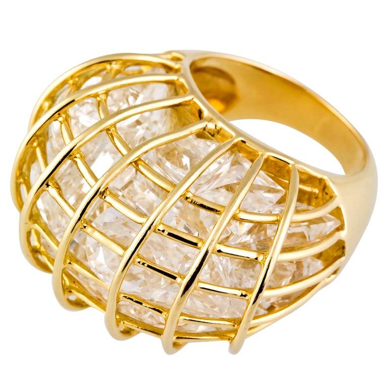 Cage Ring Verdura