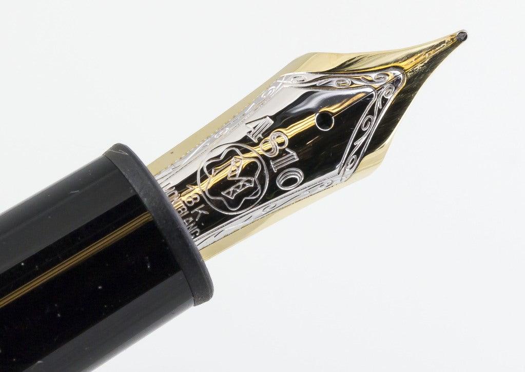 Montblanc Meisterstuck 146 Medium Gold Fountain Pen At 1stdibs