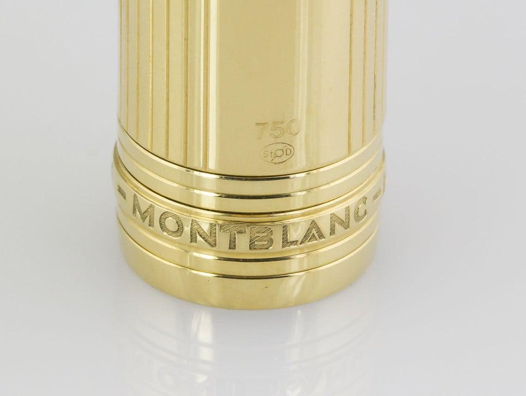 Women's or Men's MONTBLANC Meisterstuck 146 Medium Gold Fountain Pen