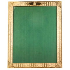 BLACK STARR & FROST Retro Large Gold Picture Frame
