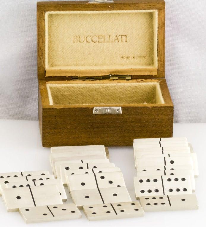 Buccellati Sterling Silver Dominoes Set At 1stdibs