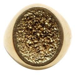 JOHN DONALD Gold Ring