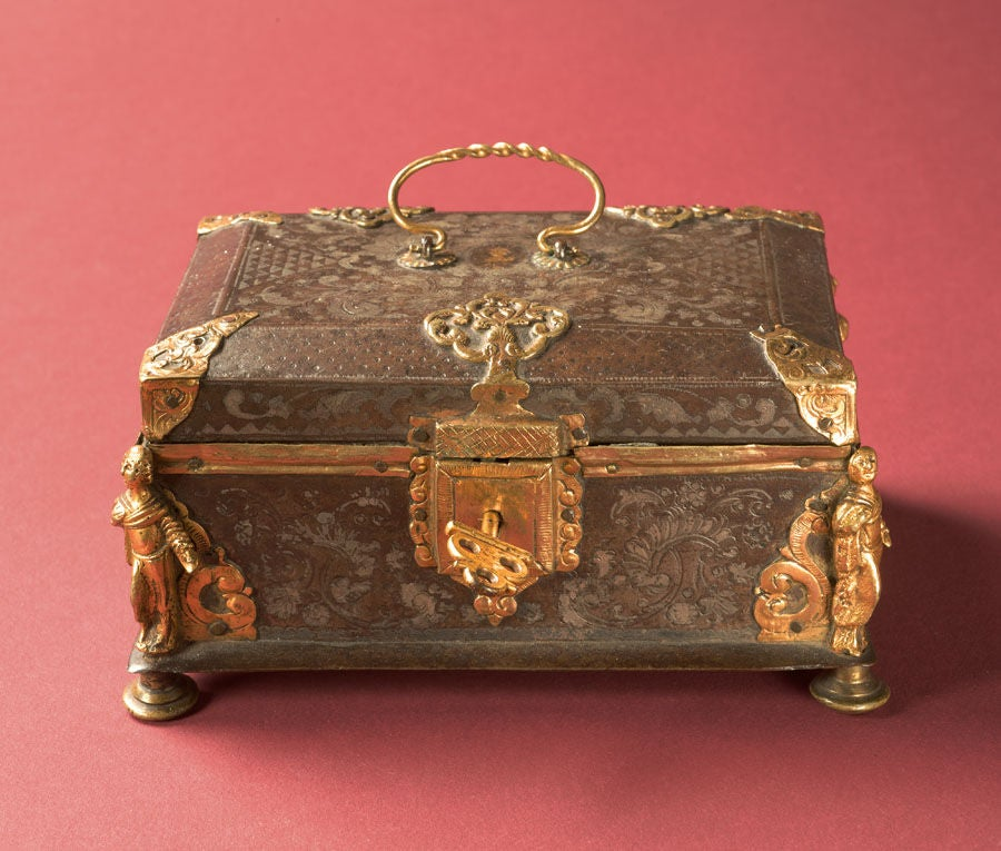 Damascened Steel and Gold 16th Century Box 2