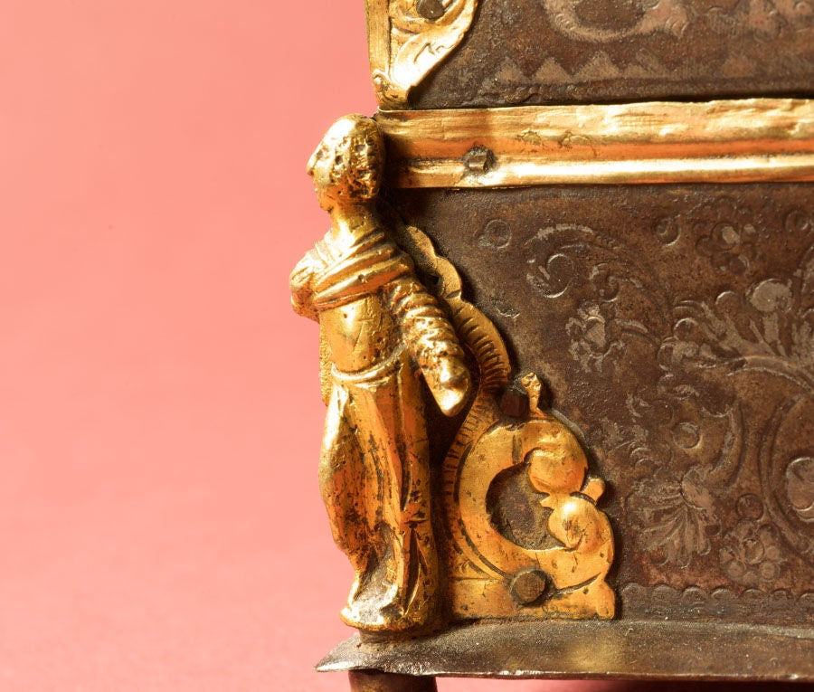 Damascened Steel and Gold 16th Century Box 5