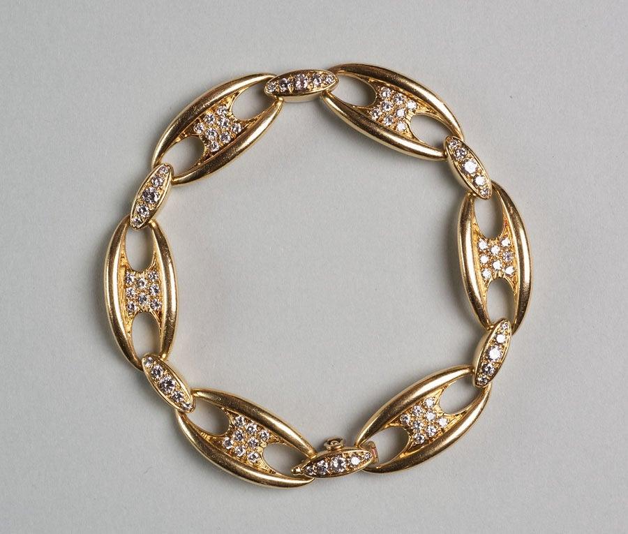 Mauboussin Diamond Gold Bracelet 2