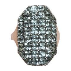 18th Century White Paste Ring